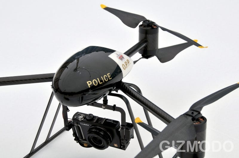 The Draganflyer X6 UAV Police Edition