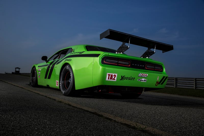 The Dodge Challenger Is Going Racing