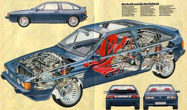 The Dual-Engined Volkswagen That Never Was