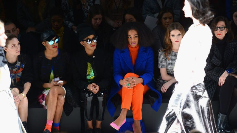 Solange Knowles and Anna Kendrick Are Fashion Week BFFs