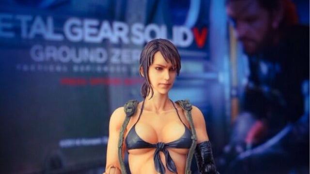 The Inevitable Erotic Metal Gear Solid V Figure