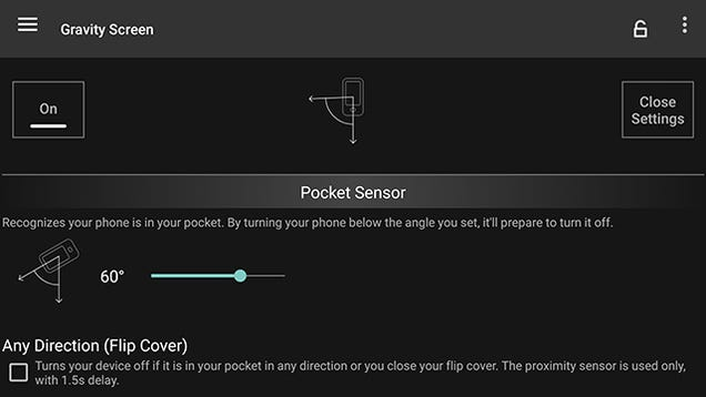 Lock and Unlock Your Android Device Automatically with Gravity Screen