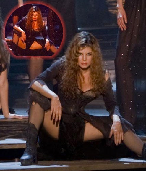 Fergie Retrofitted With Crotch-Veil In New 'Nine' Promotional Photo