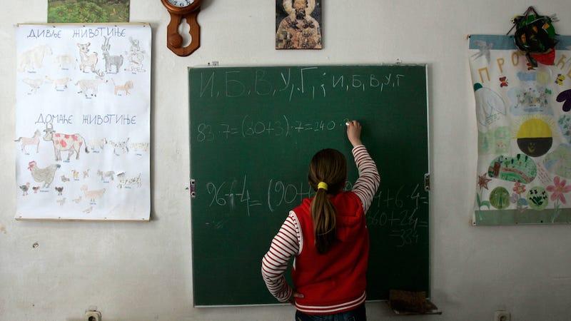 Data Shows Girls Around The World Underestimate Themselves In Math