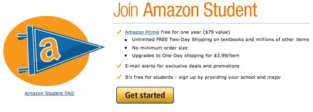Get a Free Year of Amazon Prime If You Have a .Edu Email Address