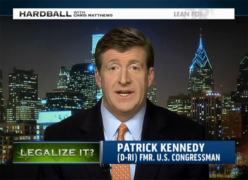What Is a Kennedy Doing Weedsplaining Pot's Dangers to Barack Obama?