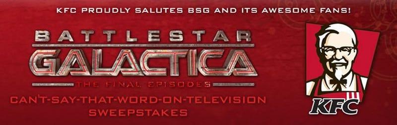 Battlestar Galactica's Frak Pack Pays Off For KFC