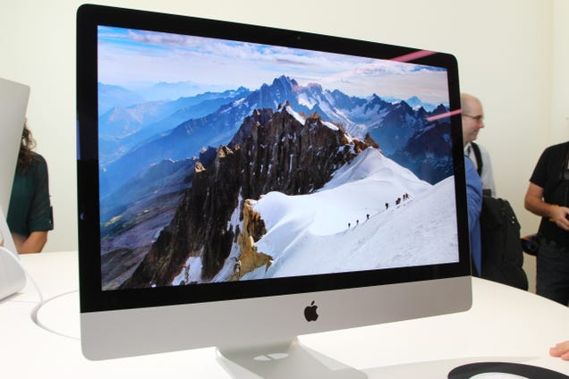 iMac with Retina Display Eyes-On: It's Gorgeous, Of Course