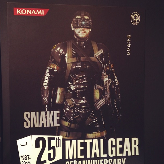 Konami Reveals New Metal Gear Solid Game [Update: Now With First Images]