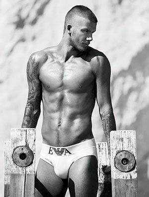 David Beckham's New Armani Ad: Yes.