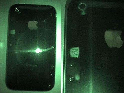 Apple iPhone 3G Hides Secret QR Code