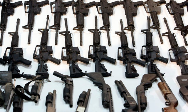 Report: Feds Regret Selling Guns to Drug Cartels