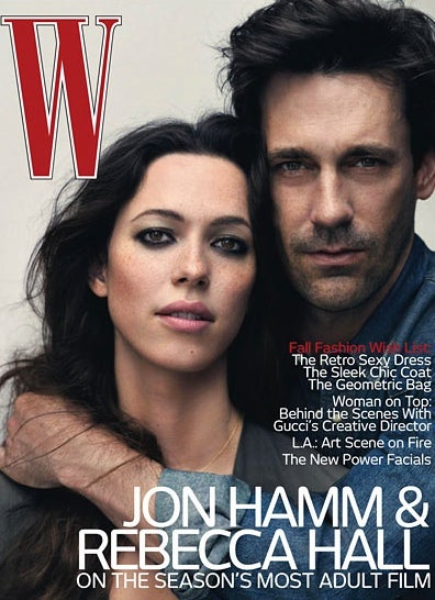 Jon Hamm Is Predictably, Delightfully Hot & Handsome In W