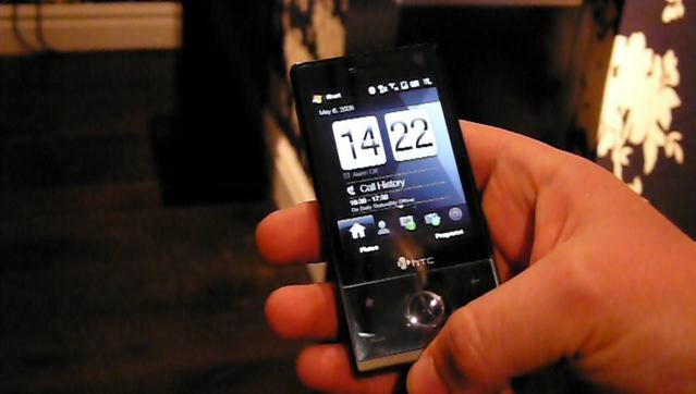 Hands-On with the HTC Touch Diamond (Verdict: Slightly Sluggish, But Has Nice UI Touches)