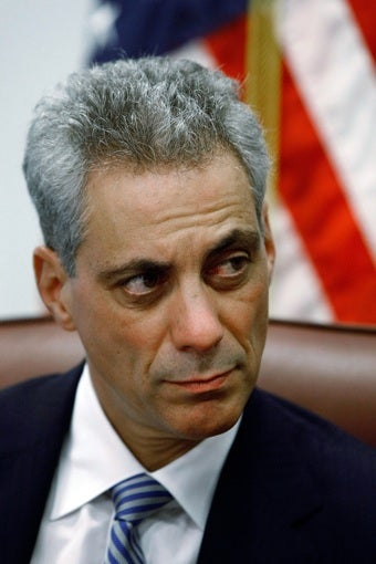 Rahm Emanuel Will Not Be Wishing You A Happy Period Anytime Soon