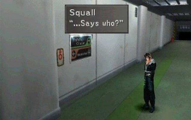 Squall Reacts To Final Fantasy VIII On Steam