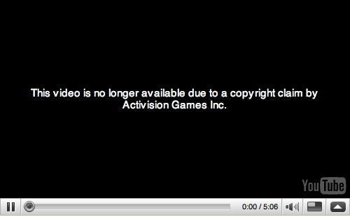 Kurt Cobain Parody Vid Taken Down on Activision's Request