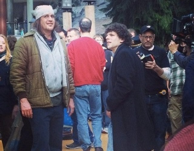 Here's the First Photo of Jason Segel as David Foster Wallace