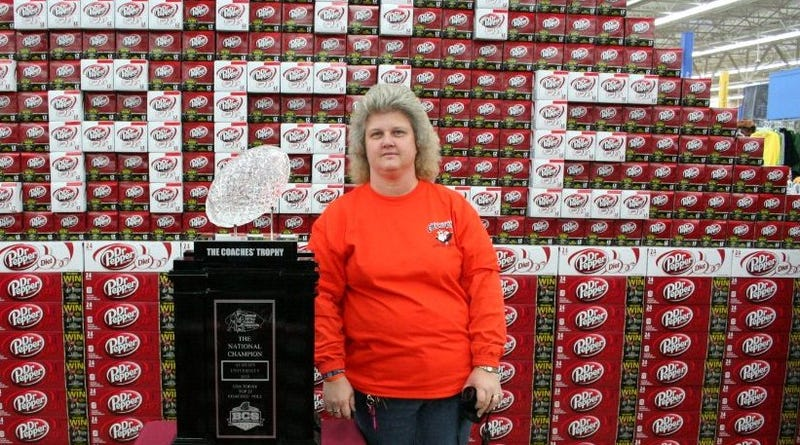 When Auburn Fans Descend On Walmart