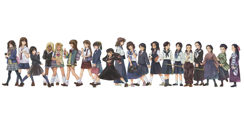 The Evolution of Japanese Schoolgirl Uniforms