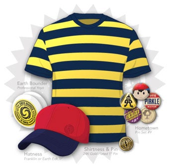 Earthbound Inspired Shirtness, Hatness Ups Your Nerdness