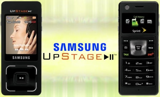 """Samsung Ultra Music Phone Re-Branded """"Upstage"""""""