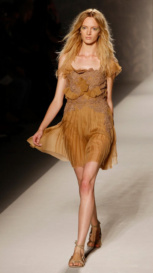Alberta Ferretti Features Surprisingly Practical Accoutrements