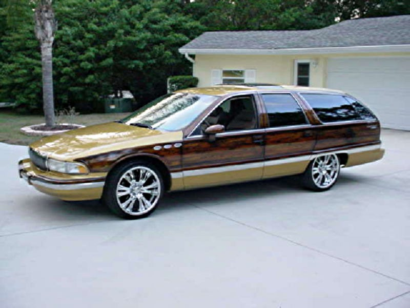 1993 Buick Roadmaster Wagon for $12,900!