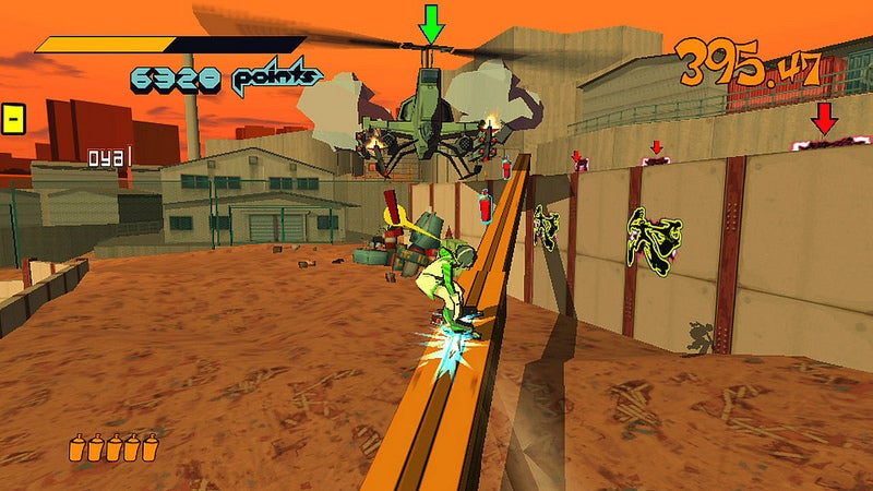 Touch-Screen Graffiti Controls Come With Jet Set Radio PS Vita Release