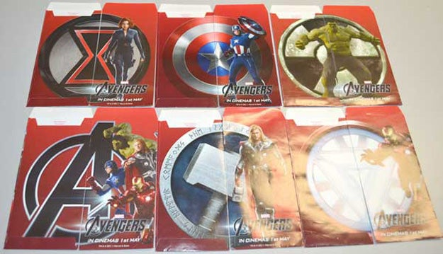 Avengers Asian Market Promo Materials Gallery