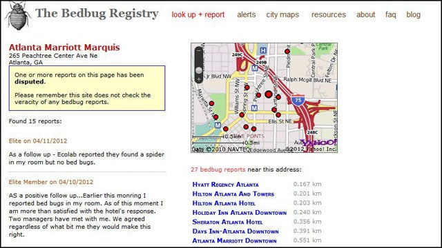 Bed Bug Registry Helps You Avoid Creepy Crawlies When Traveling