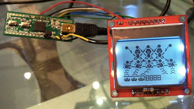 A DIY Classic Game & Watch Handheld Made With an Old Nokia Cellphone