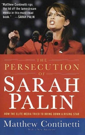 Sarah Palin Approves of Book Titled 'The Persecution of Sarah Palin'