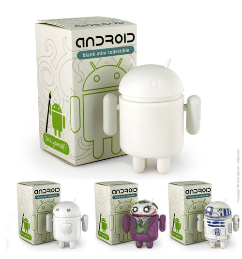 Project Your True Inner Geek Onto This Paintable Android Figurine
