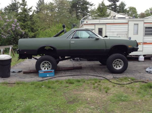 Lifted El Camino On Craigslist Autos Post