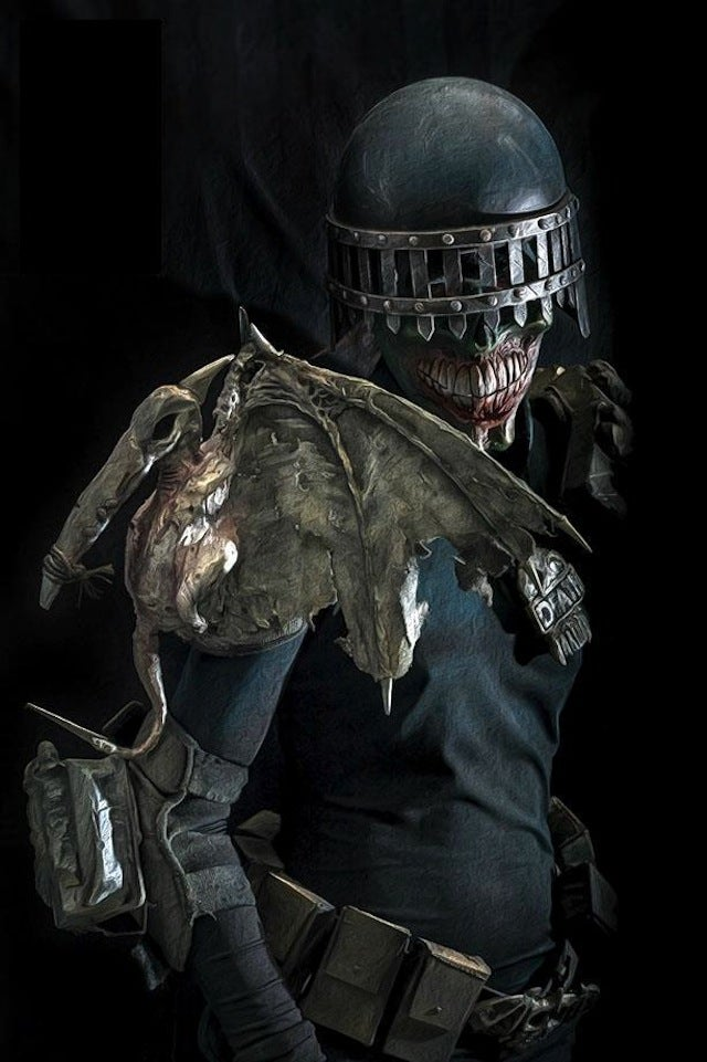 Judge Death costume is the perfectly terrifying law