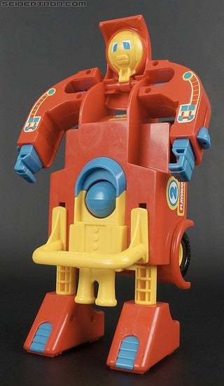 This Transformers toy has balls. That is all.