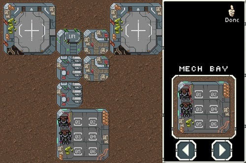 X-Com Homage On Intercept Course With iPhone