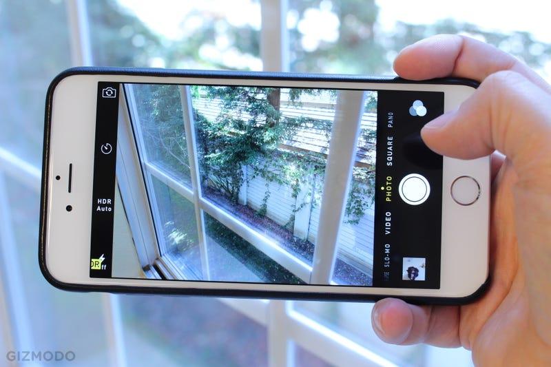 Как сделать фото как на айфоне