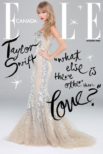 Taylor Swift Sparkles Her Sparkliest Sparkles On Cover Of Elle