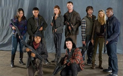 First cast photo from Red Dawn remake shows Guerrilla teen militia The Wolverines