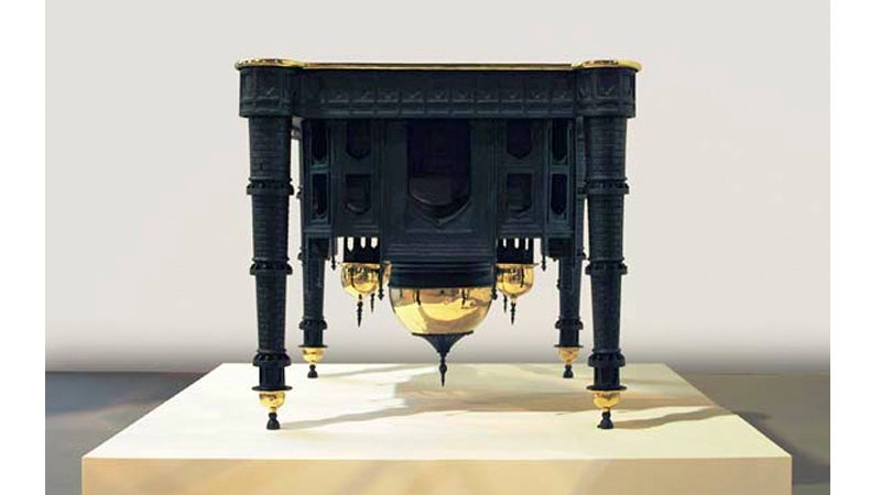 The Same Architectural Concepts Keeping the Taj Mahal Upright Make This Table Strong
