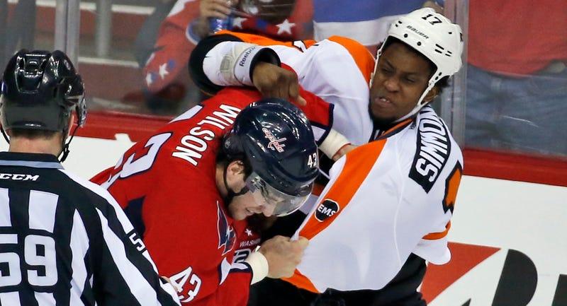 Capitals 2, Flyers 0