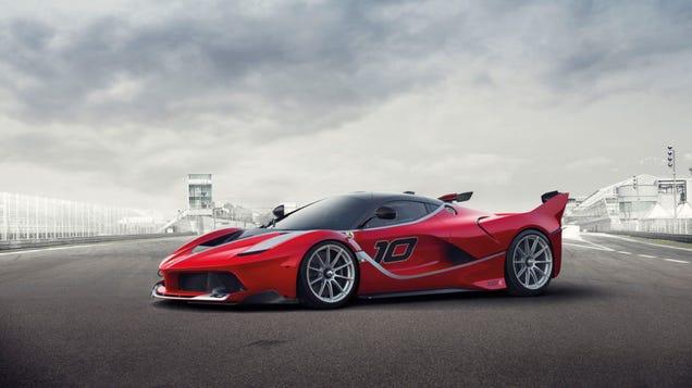 El nuevo Ferrari híbrido de prueba es esta bestia de 1050 caballos