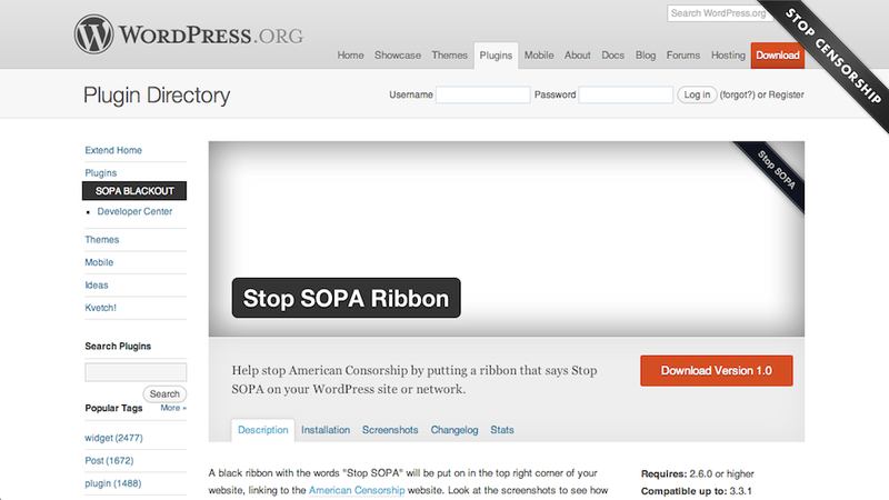 Everything You Need to Legally Protest SOPA