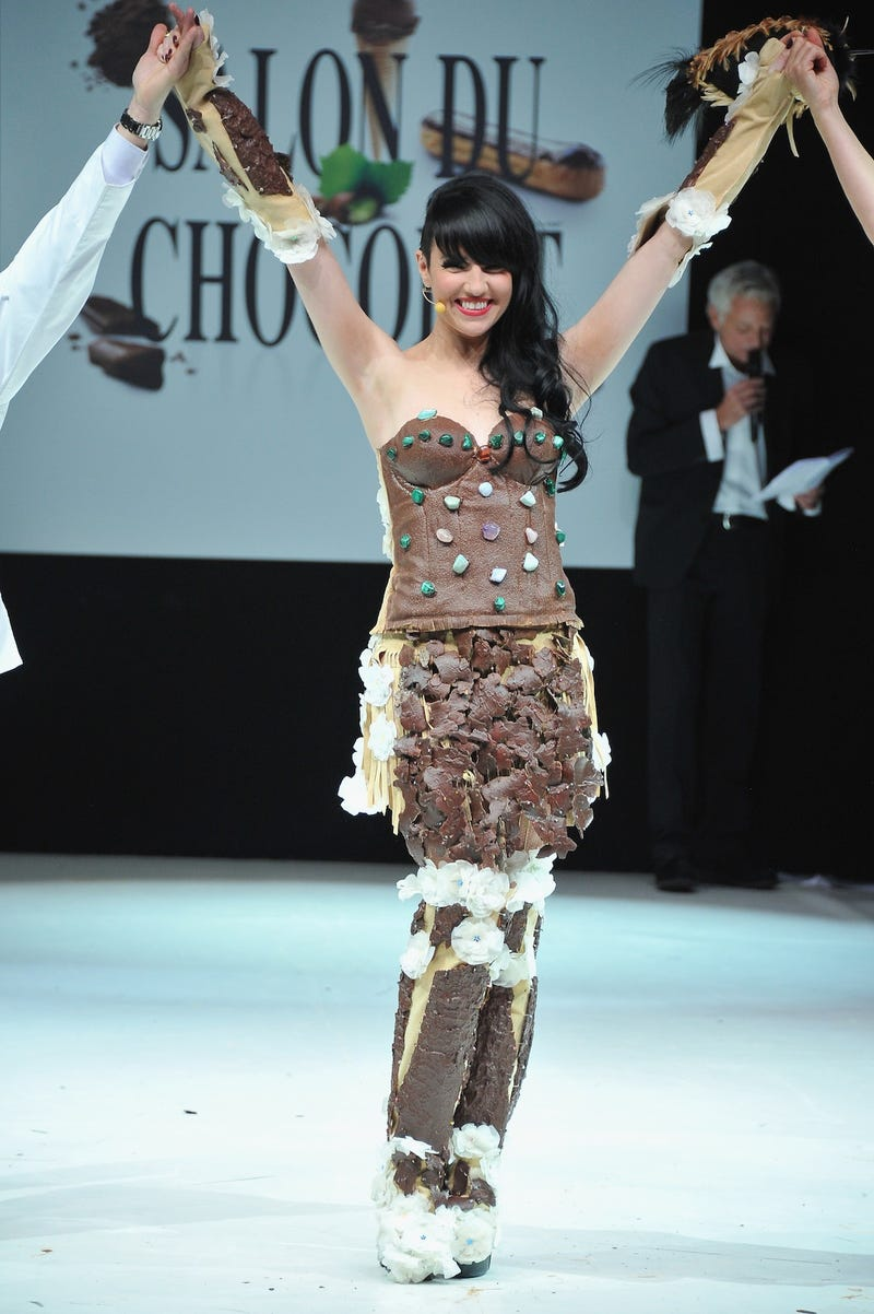 This is insane. These clothes are all made of chocolate.