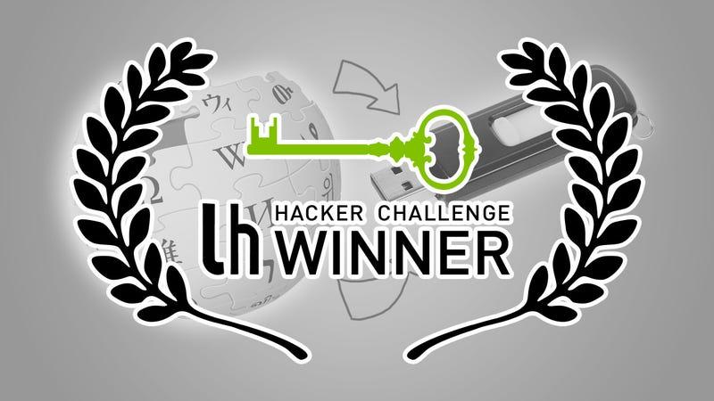 Challenge Winner: Keep a Wikipedia Backup on a USB Flash Drive