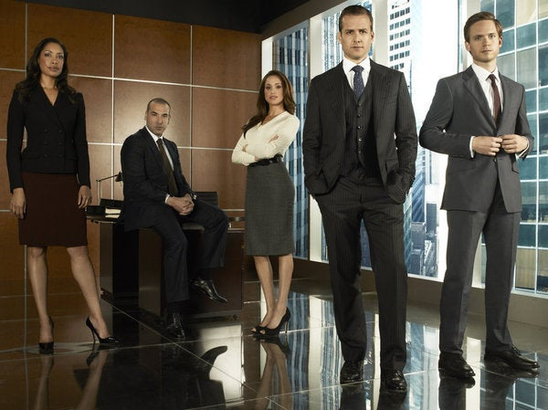 Seems OT: Are You Watching Suits?