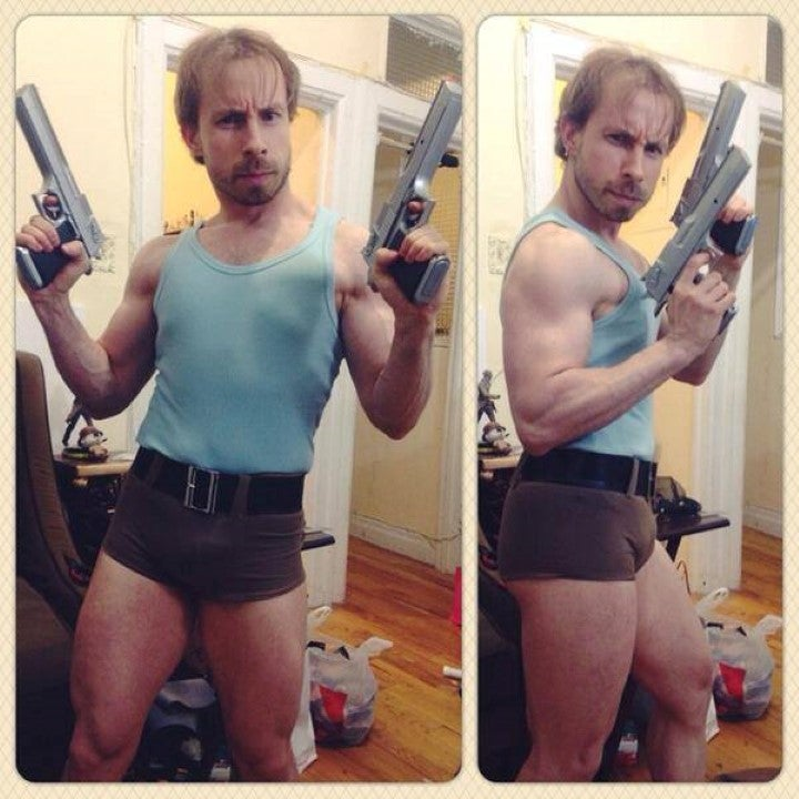 Lara Croft? More Like Larry Croft.