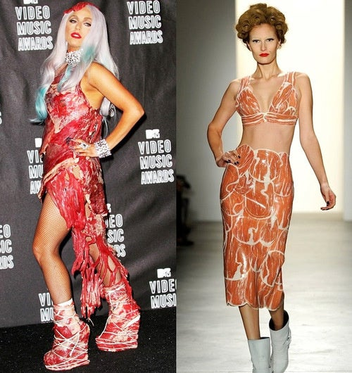 Lady Gaga's Impact on Fashion Is Instantaneous, Meaty